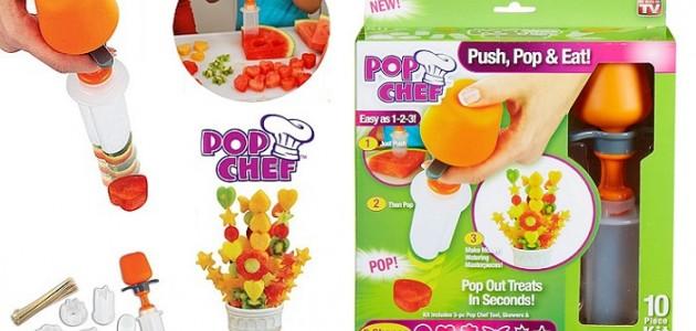 690 din za Pop chef aranžer voća i hrane! Spremite ukusne i dekorativne zalogaje u obliku kruga, srca, cveta, leptira, sunca i zvezda!