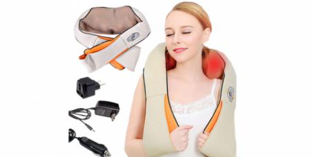 3990 din za specijalni šiatsu masažer za vrat, leđa, ramena, ruke i noge!