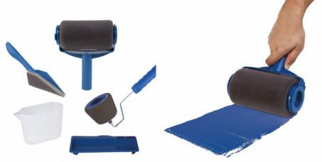 1490 din za profesionalni set za krečenje sa 3 različita nastavka:  veliki valjak + mala četka za osetljive površine + specijalna četka za uglove + merica za farbu + podloga za odlaganje!