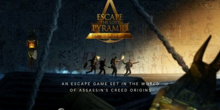 "2800 din za prvi virtuelni escape room za 2 igrača u ""ENIGMA GAMES"" u centru Beograda!Uđite virtuelno u univerzum ""Assassins Creed"""