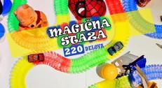 1790 din za Trkački set MAGIČNA STAZA - 220 delova!