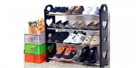 1350 din za Stackable Shoe Rack - Cipelarnik za obuću na 4 nivoa!