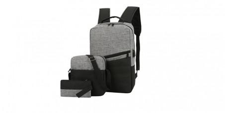 2450 din za Laptop Backpack set - muški ranac + torbica + neseser!