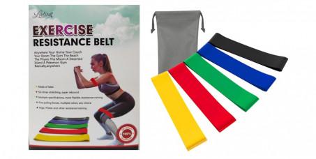 890 din za elastične fitness trake za vežbanje, različitog opterećenja!