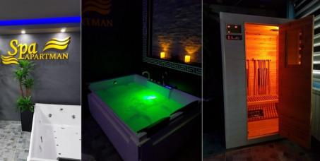 """3900 din za spa night & romantic paket za dvoje u spa apartmanu """"Kleopatra""""+gratis parking (noćenje za dvoje u apartmanu sa jakuzzijem i infracrvena suva-sauna)u Beogradu!"""