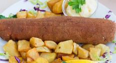 580 din za dve karađorđeve šnicle sa pomfritom i tartar sosom+ dve kupus salate +dve lepinje u restoranu Magija MB!