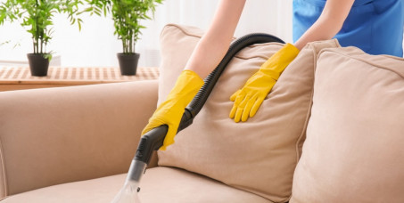 2100 din za dubinsko čišćenje i dezinfekciju nameštaja: trosed,dvosed i fotelja!