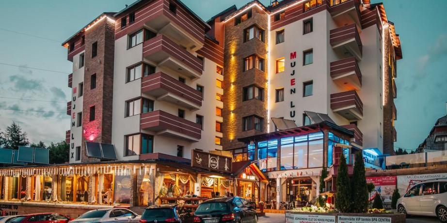 5990 din za dva noćenja za dve osobe u studio apratmanu radnim danima u MujenLux apartmanima na Kopaoniku!