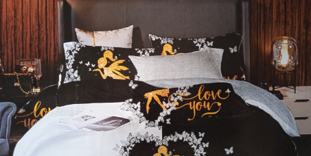 1990 din za posteljinu za francuski ležaj (čaršav, jorganska navlaka i dve jastučnice)!