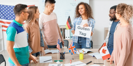3000 din za kompletan standardni grupni kurs opšteg engleskog ili nemačkog jezika (za sve nivoe) u školi Success spinners! Časovi uživo sa profesorom!