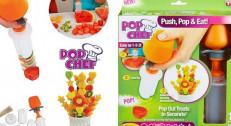 490 din za Pop chef aranžer voća i hrane! Spremite ukusne i dekorativne zalogaje u obliku kruga, srca, cveta, leptira, sunca i zvezda!