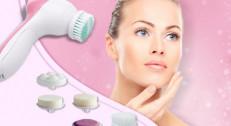 850 din za specijalni masažer sa 5 nastavaka za masažu, dubinsko čišćenje i piling lica!